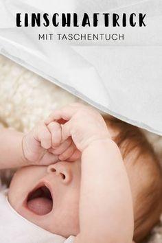 Das Baby kann nicht einschlafen? Dieser Trick könnte Ihnen helfen.
