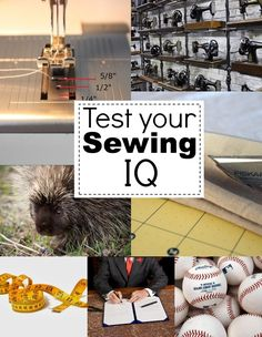 Test your sewing IQ with this fun quiz by The Sewing Loft