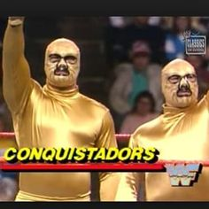 Conquistadors | 42 Wrestlers You Won't Believe Actually Existed