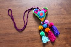 Felted charms. Handmade in Mexico. Enquiries: jubelshop@outlook.com