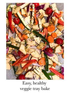 Dit is zo een makkelijke toevoeging aan een lekker diner. Heb je wat mensen over de vloer vanavond en weet je niet goed wat je moet klaarmaken? Dit vind iedereen lekker! Heb je geen zin om veel te doen voor je avondeten? Perfect! Het enige wat je doet is de groenten snijden, kruiden en afbakken. Zo gedaan dus! Het recept vind je op veganmetjuud.nl Eat The Rainbow, Kung Pao Chicken, Pasta Salad, Veggies, Ethnic Recipes, Food, Crab Pasta Salad, Vegetable Recipes, Vegetables