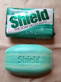 It's soap! AND it's deodorant! The original multitasking bathroom product, years before anyone had even considered scoffing at the absurd notion of taking TWO bottles into the shower. 1970s Childhood, My Childhood Memories, Sweet Memories, Just In Case, Just For You, Savon Soap, 80s Kids, Perfume, My Memory