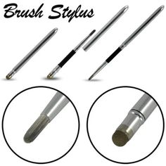 Hot selling Capacitive Brush & Stylus Pen - for Ipad for Iphone for Samsung Galaxy Tab Tab 2, Tab 3 7.0, 8.0 & 10.1 touch pen