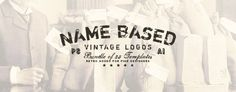 UPDATE on 30/10/2014 AI and EPS files are now included in the pack! Kindly re-download the item to get the complete pack. Thank you!   27 Retro Vintage Insignias Bundle Volume 1   This bundle inc...