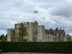 Hever Castle ,the childhood home of Anne.