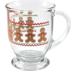 Amazon.com Anchor Hocking Glass Gingerbread Men Cafe Mugs Set of 6  sc 1 st  Pinterest & Williams-Sonoma Gingerbread Dishes | Gingerbread Land | Pinterest ...