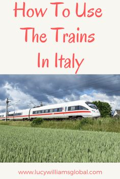 How to use the trains in Italy - Everything you need to know about using the trains in Italy, from buying your ticket to getting on the right train Italy Travel Tips, Europe Travel Guide, Travel Guides, Travel Hacks, Travel Advice, Things To Do In Italy, Italy Vacation, Italy Trip, Train Travel