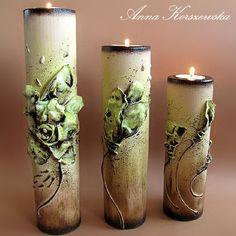 Witaj w moim świecie!: Blossom II - świeczniki dla Ani M.
