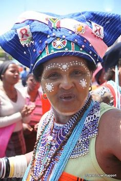 Xhosa woman (Umama-mother in zulu or xhosa)