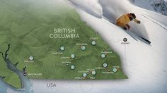 A world of variety in one province British Columbia, Skiing, World, Ski, The World, Earth