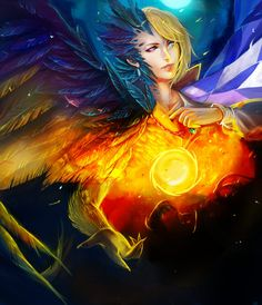 """Howl- The Light and The Dark by Glass-Owl.deviantart.com on @deviantART - From Miyazaki's """"Howl's Moving Castle"""""""