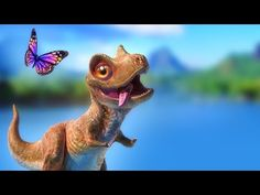 Dinosaur Animation - Cartoon for Children - PANGEA Movie Trailer - YouTube