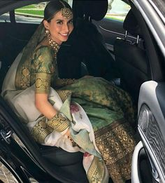 Real bride Meghna Jhuremalani in Sabyasachi for her wedding in Rome, Italy. Indian Bridal Outfits, Indian Designer Outfits, Pakistani Outfits, Indian Designers, Dress Indian Style, Indian Dresses, Indian Attire, Indian Wear, Desi Clothes