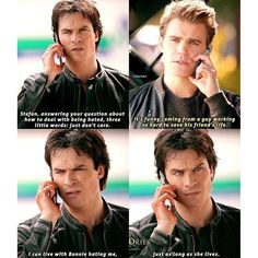 """#TVD 7x20 """"Kill 'Em All"""" - Stefan and Damon"""
