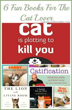 6 Fun Books For The Cat Lover