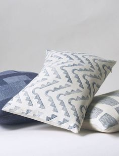 Pillows by Susan Conner I Remodelista