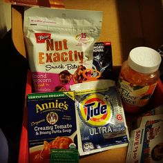 """This is my new comfort voxbox from Influenster! Excited to try the goodies! #comfortvoxbox #influenster"""
