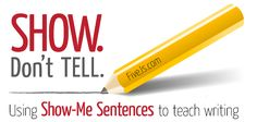 How to Teach Descriptive Writing w/ Show me Sentences
