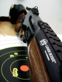"""The Cowboy 'Assault Rifle'"" - tactical Marlin Levergun Weapons Guns, Guns And Ammo, Scout Rifle, Lever Action Rifles, Shooting Guns, Shooting Range, Battle Rifle, Cool Guns, Awesome Guns"