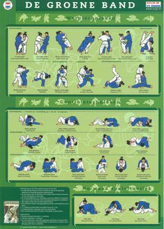 Groene Band-Judotechnieken | Paul Thomas