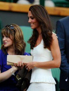 Wimbleton white dress, Kate wins!