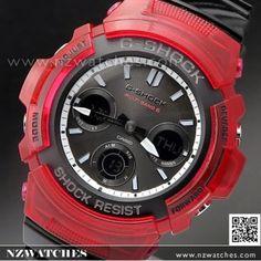 Casio G-Shock Multi band 6 Solar Special Color Watch G Shock Watches, Casio G Shock, Sport Watches, Watches For Men, G Shock Red, G Shock Mudmaster, Casio Quartz, Elapsed Time, Bandy