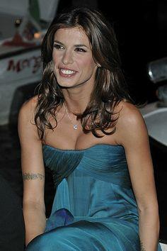 Elisabetta Canalis ~ Elisabetta Canalis (Italian pronunciation: [elizaˈbetta kaˈnaːlis]) (born 12 September 1978) is an Italian actress and showgirl.