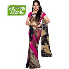 Buy new Shanthi Pink color saree at Rs.299/- only. Limited Period offer !! Hurry…