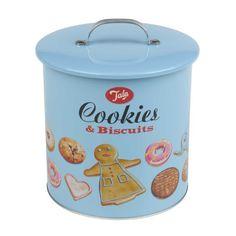 Tala Happy Days Biscuit Storage Barrel - 1960/002 Kitchen... http://www.amazon.com/dp/B00CK8I462/ref=cm_sw_r_pi_dp_OA7nxb0372Z05