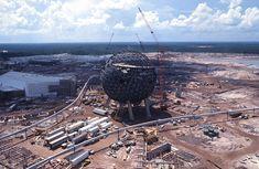 Vintage Walt Disney World: Spaceship Earth #Epcot