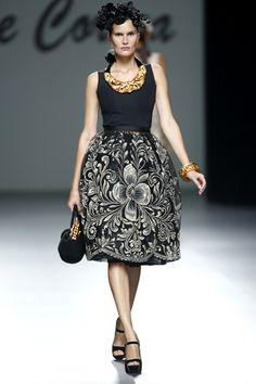 LOVE the skirt!  :). Meche Correa Primavera Verano 2014. Madrid Fashion Week
