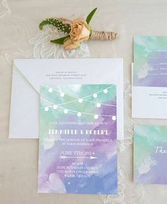 Ideas For Wedding Design Inspiration Invitation Ideas Wedding Invitation Trends, Inexpensive Wedding Invitations, Purple Wedding Invitations, Wedding Stationary, Invitation Ideas, Invitation Templates, Wedding Paper, Wedding Cards, Wedding Design Inspiration
