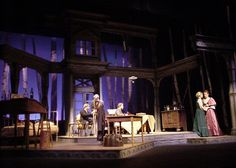 Uncle Vanya. Scenic design by Shawn Fisher.