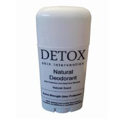 All Natural Deodorant with Dead Sea Minerals and by DETOX Skin Intervention $7.99