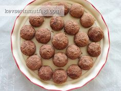 Cocoa Covered Cookies Recipe   Turkish Style Cooking