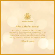 Nothing can make you absolutely beautiful if you are not happy. Blend your outer beauty with inner vitality and we believe that it will be absolutely reflected in your radiant #skin.