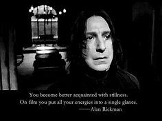 306 отметок «Нравится», 2 комментариев — Jia Yu (@edgar_rickman) в Instagram: «#Harry Potter #severussnape #alanrickman»