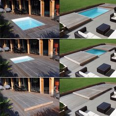 Retractable decking over your pool!! #coolidea  #homedesign #lifestyle #style #designporn #interiors #decorating #interiordesign #interiordecor #architecture #landscapedesign by adesignersmind
