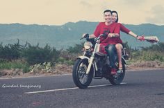 Awesome @fheraindah prewedd with classic theme #honda #CB