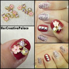 Check out a new blingy nail art tutorial with a giveaway on my YouTube channel here: http://youtu.be/QVBNE6wmqr4