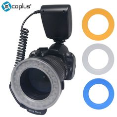 56.00$  Buy now - http://ali0zu.worldwells.pw/go.php?t=1000001244050 - Mcoplus RF-550D Ring Flash Speedlite for Canon 5D 6D 7D Mark II 550D 600D  Nikon D7100 D800 D600 Olympus Panasonic DSLR Camera 56.00$