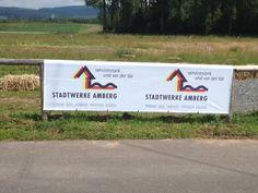 Banner von bannerstop.com für die Stadtwerke Amberg.