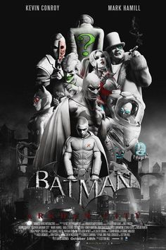 "$9.99 AUD - 01 Batman Arkham City - Movie Hot Art 24""X36"" Poster #ebay #Collectibles"