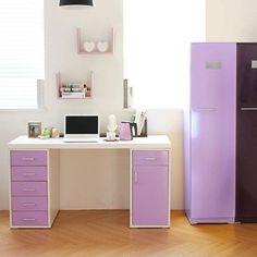 Картинки по запросу письменный стол белый фиолетовый