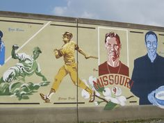 Mississippi River wall mural