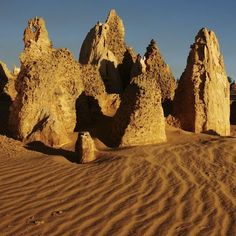 The Pinnacles ~ Western Australia Cool Countries, Countries Of The World, Western Australia, Australia Travel, Holiday Destinations, Travel Destinations, Land Of The Free, Next Holiday, Tasmania