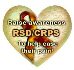 RSD/CRPS Awareness Heart