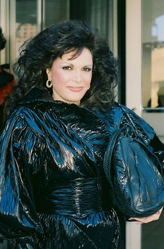 Connie Francis 1985 NYC By Jonathan Green
