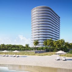 Renzo Piano Building Workshop is set to begin work on a glass-sheathed tower in Miami Beach that will be the firm's first residential project in the USA