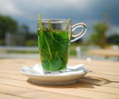 Mint tea Mint Tea, Drinks, Cocktails, Tableware, Summer Feeling, Moroccan, Relax, Happiness, Website